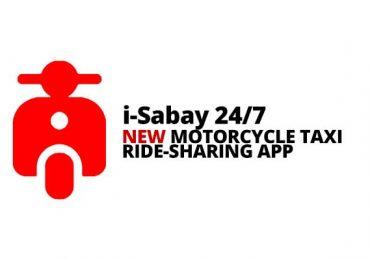 NEW: i-Sabay 24/7 Motorcycle Taxi; Angkas' Rival