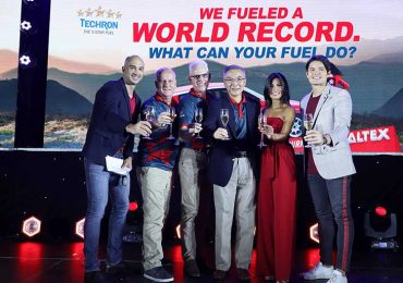 Caltex fuels world record, unveils new campaign