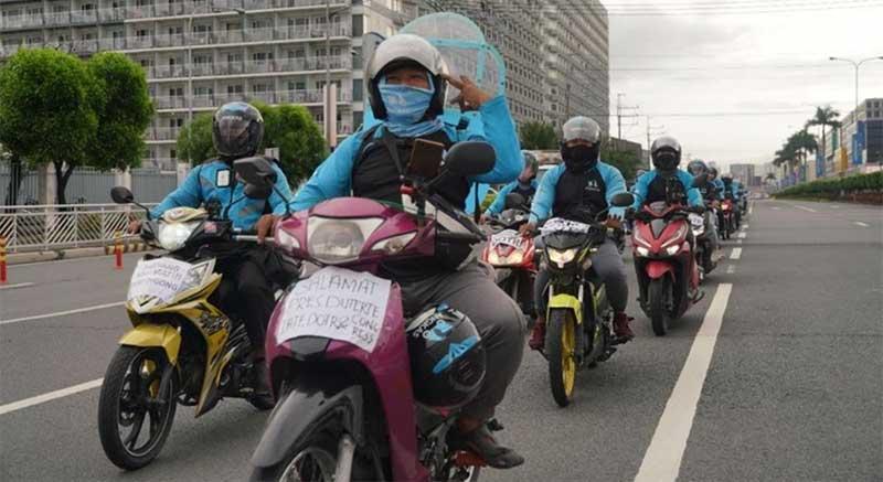 Angkas thank you ride