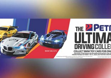 The Petron Ultimate Driving Collection featuring BMW supercars