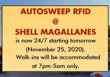 Shell Magallanes announces 24/7 availability of Autosweep RFID starting November 25